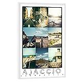 artboxONE Poster mit weißem Rahmen 30x20 cm Städte