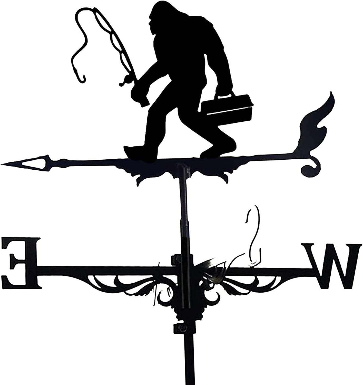 JHWSX Weather Vane 13.75x33.85inch Metal Weathervane with Max 74% OFF Roof OFFicial shop
