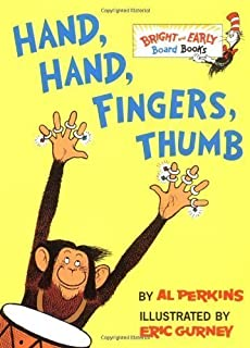 Hand, Hand, Fingers, Thumb (Bright & Early Board Books) by Perkins, Al (unknown Edition) [Boardbook(1998)]