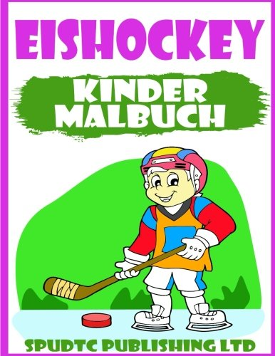 Eishockey: Kinder Malbuch