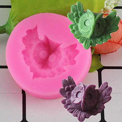 ZHQIC 3D Silicone Mold Chocolate Candy Molds Fondant Cake Decorating Tools Resin Candle Molds Kitchen Baking