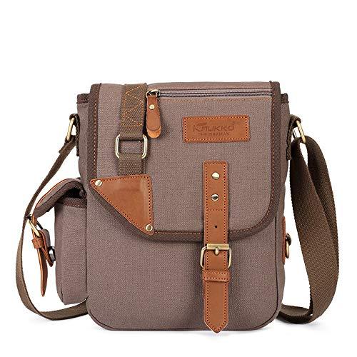 Un bolso de hombro de los hombres de negocios Messenger bolso de ocio del teléfono móvil bolso de lona