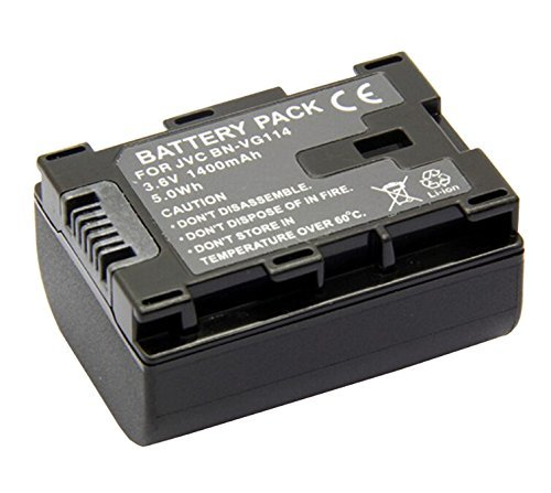 Battery for JVC Everio GZ-HM35BU, GZ-HM40BU, GZ-HM65BU HD Flash Memory Camcorder