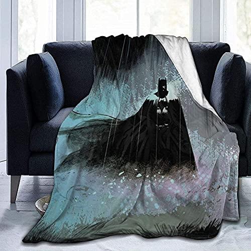Batman Couverture de pique-nique en polaire lestée personnalisée pour animal domestique pour lit, canapé, camping, cinéma froid ou voyage 152,4 x 127 cm
