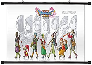 Dragon Quest XI Game Fabric Wall Scroll Poster (32x18) Inches [VG] DragonQuestXI-9(L)