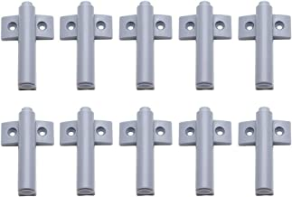 LICTOP 10 Pack Push to Open System Soft Close Plastic Damper Buffer with Magnetic Tip for Kitchen Cabinet Door Drawer