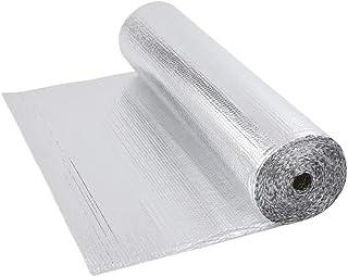 Trueshopping Biard Rollo Aislante Térmico de Aluminio de 1