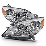 ACANII - For 2003-2008 Toyota Matrix Headlights Headlamps Replacement 03-08 Left+Rght Set Driver + Passenger...