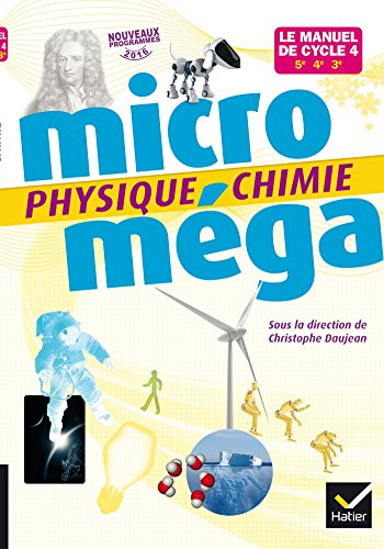 Microméga - Physique-Chimie Cycle 4 Éd. 2017 - Livre élève (Microméga collège)
