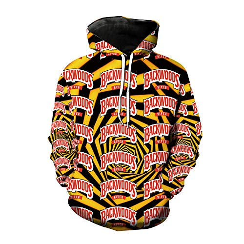 N\C Unisex Four Seasons Backwoods Mode Outdoor Sport Hoodie Lässig Lose Unisex Hoodie Langarm Casual Sweatshirt Mit Tasche M