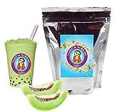 NEW TASTE ! Honeydew Boba / Bubble Tea Drink Mix By Buddha Bubbles Boba 10 Ounces (283 Grams)