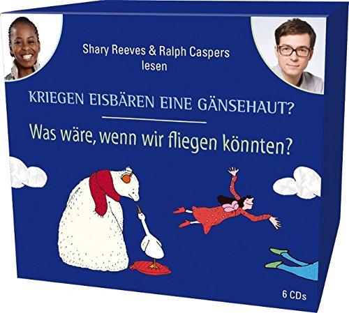 CD WISSEN Junior - Kriegen Eisbären eine Gänsehaut? / Was wäre, wenn wir fliegen könnten? Sammelbox, 6 CDs