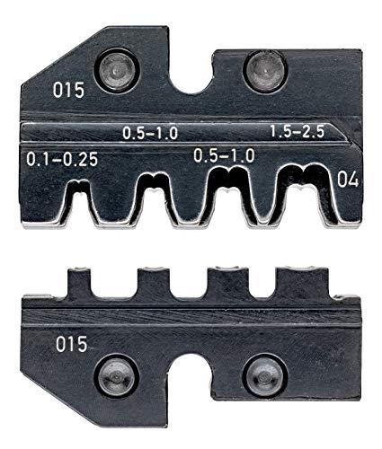 KNIPEX 97 49 04 Crimpeinsatz für unisolierte, offene Steckverbinder 2,8 + 4,8 mm