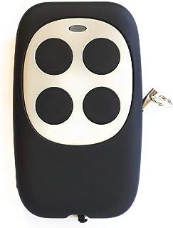 Mando Garaje Universal Multifrecuencia TXD Compatible Para Frecuencias Desde 433MHz Hasta 868MHz Código Fijo Y Variable Capaz De Unificar 4 Mandos Distintos En 1 (Gris)