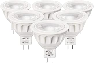 MR16 Led Light Bulbs GU5.3 LED Spotlight Bulbs 5W AC/DC 12V LED Blub 50 Watt Equivalent 35 Degree Beam Angle 425lm 6000K Daylight 6 Pack