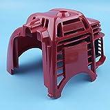 Cubierta superior del cilindro del motor Cubierta compatible con Honda GX25 GX25N GX25NT Desbrozadora Desbrozadora Desbrozadora Tiller Reemplazo de piezas 19720-Z0H-000ZB