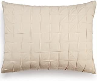 Bar Iii Box Pleat Sand Standard Sham Bedding