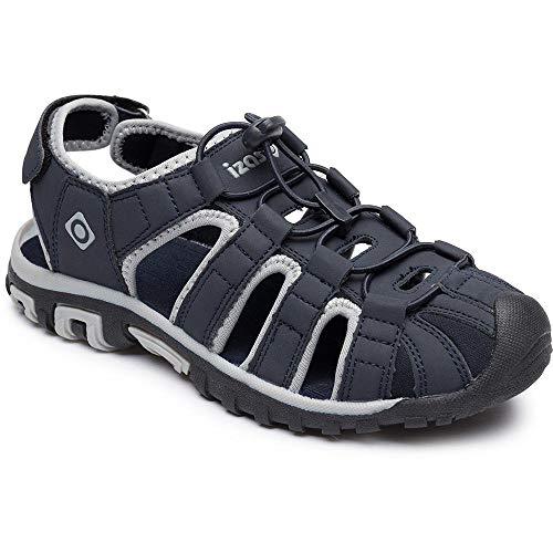 Izas Penk, Sandale de Sport Mixte, Bleu, 37 EU