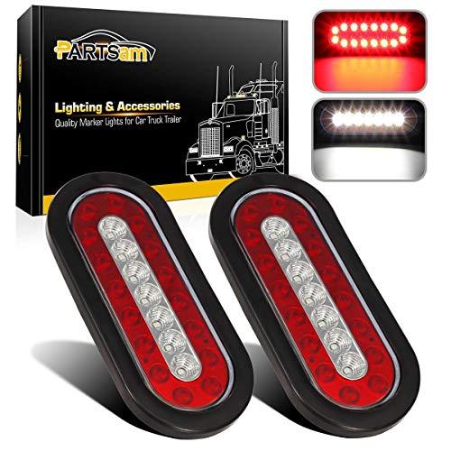 led tail lights Partsam 2Pcs 6.3
