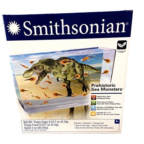 Smithsonian Prehistoric Sea Monsters Triops Eggs Kit