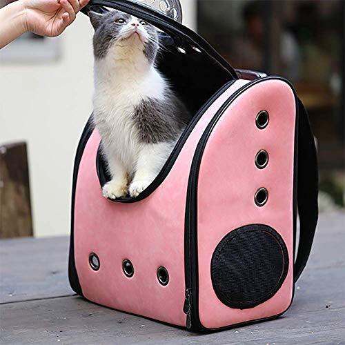 NAN El Perro y el Gato portátil Mochila, Mascotas Transpirable Mochila Cápsula Espacial Burbuja Bolsa de Viaje