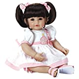 Adora ToddlerTime 'Let's Celebrate Baby ' Doll with with fancy appliqud birthday dress and pink sandals
