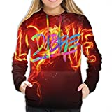 Rogerds Kapuzenpullover Womens Dobre-Brothers Logo Winter Hoodie Sweatershirt Langarm-Pullover Hoodies for Women Clothes