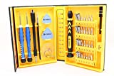 A-Plus Shopping 38-piece Cell Phone, PC, Tablet, Macbook, Electronics Precision Magnetic Screwdrivers Repair Tool Kit Set (38 in 1)