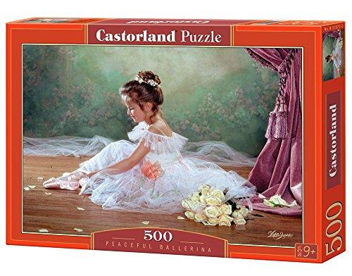 Castorland - B-51571-2 - Puzzle - Jane - Petite Ballerine - 500 Pièces