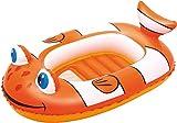 Colchoneta hinchable con forma de pez globo marca BESTWAY
