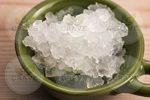 Water Kefir Grains SCOBY - Live Organically Grown - FREE RECIPE Natural Probiotics AKA Tibicos, Tibi, Bebees, Sugar Kefir, California Bees, Ale nuts, Aqua Gems | Crave Longevity