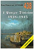 Militaria 438 4 Panzer Division 1938-1945 - Janusz Ledwoch [KSIÄĹťKA]