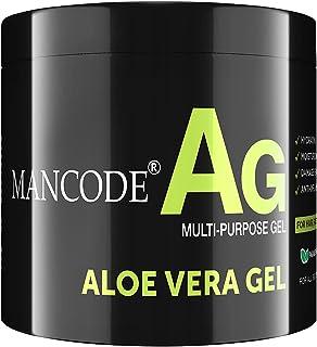 Mancode Aloevera Gel For Men -100gram | Pure Aloevera & Vitamin E Extract | Multipurpose use | Strengthens Hair | Works on...