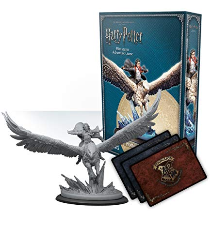 Knight Models Harry Potter Miniature Game: Harry en Buckbeak Ingles