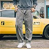 ShZyywrl Pantalones Jeans Jean Pantalones Vaqueros De Gran Tamaño para Hombre De Gran Tamaño 28-48 Pantalones Vaqueros Sueltos Vaqueros Rectos Sueltos Pantalon