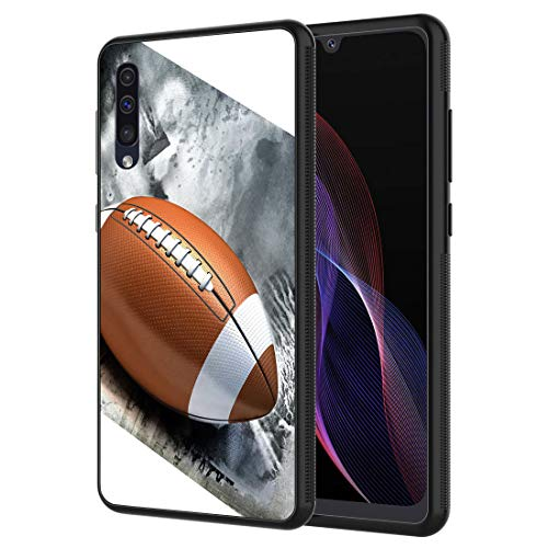 Galaxy A10E Case, Vobber Shockproof Architecture Silicone TPU Protective Case Cover for Samsung Galaxy A10E,American Football