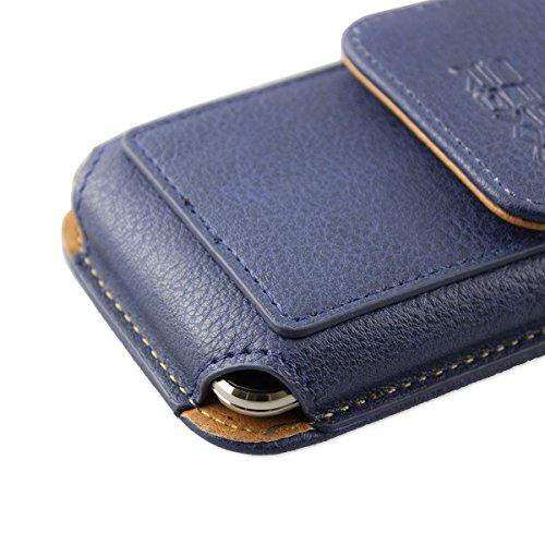 caseroxx Handy Tasche Outdoor Tasche für Emporia SMART.2, mit drehbarem Gürtelclip in blau