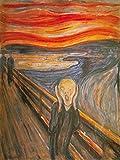 1art1 Edvard Munch - Der Schrei, 1893 Poster Kunstdruck 80