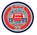 University Northside Club Amercian Football Rugby Sport Badge Vinyl Decal Bumper Sticker/Autocollant