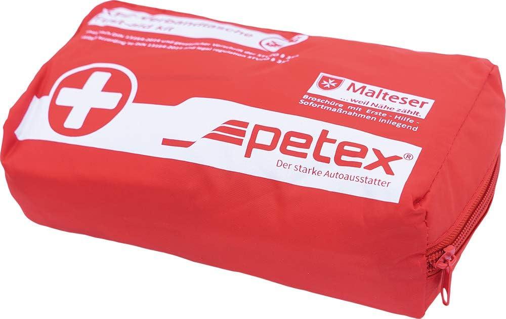 Petex 43930012 Verbandtasche Inhalt Nach Din 13164 Rot Auto