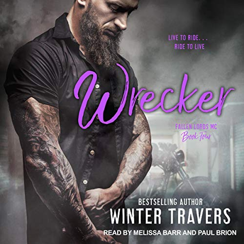 Wrecker audiobook cover art