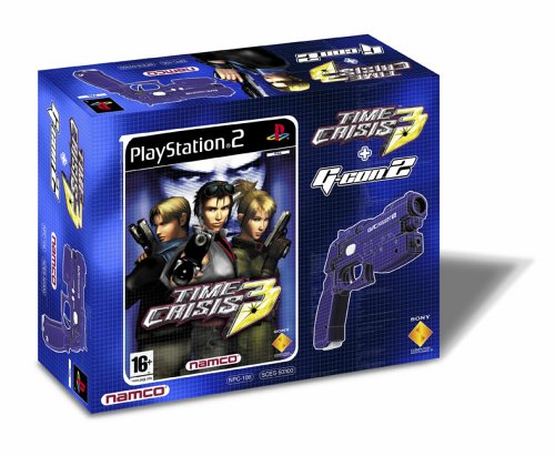 Time Crisis 3 and G Con 2 Gun Bundle (PS2) [Importación Inglesa]