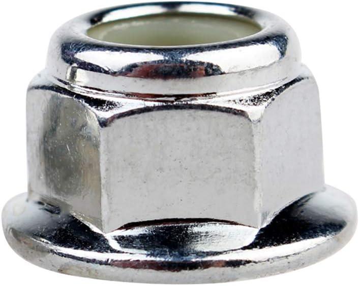 Flange Hex Lock Anti-Loose Nut Carbon Steel Screw Serrated Stop Lock Nuts M4 M5 M6 M8 Yudesun Hex Flange Insert Lock Nuts