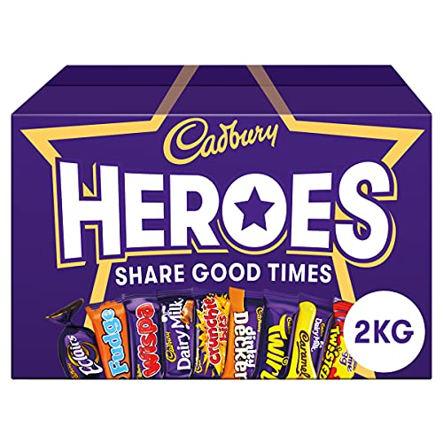 cadbury Heroes Chocolate Bulk Sharing Box, 2 kg