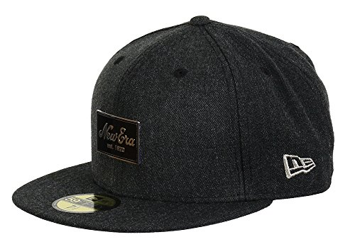 New Era Basecap Flag Heather Script Heather Darkgrey - 7-56cm