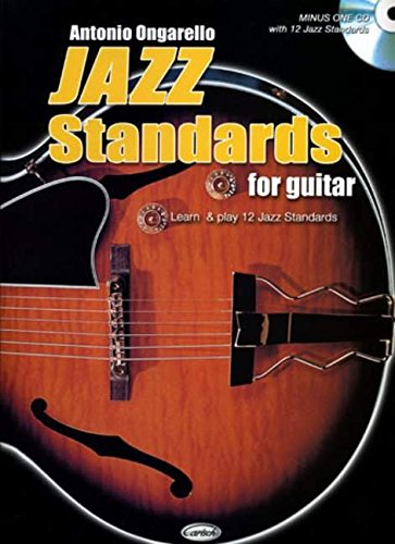Jazz Standards For Guitar (Guitar Tab with Free Audio CD)