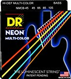 Best Bass Guitar Strings - DR Strings HI-DEF NEON Bass Guitar Strings (NMCB-45) Review