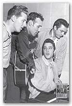 Scorpio Posters Million Dollar Quartet (Elvis Presley Jerry Lee Lewis Carl Perkins Johnny Cash) 24