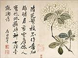 Posterlounge Cuadro de PVC 130 x 100 cm: Hydrangeas de Yun Shouping/Bridgeman Images