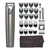 Wahl Stainless Steel Stubble & Beard Trimmer, Beard Trimmer for Men, Stubble Trimmer, Washable Head, Cordless Trimmers, Men's Stubble Trimmer, Male Grooming Set
